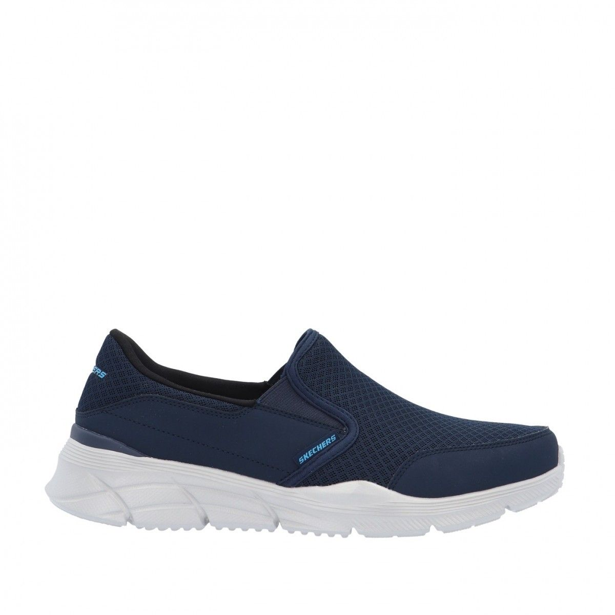 Skechers Slip on Blu Gomma...