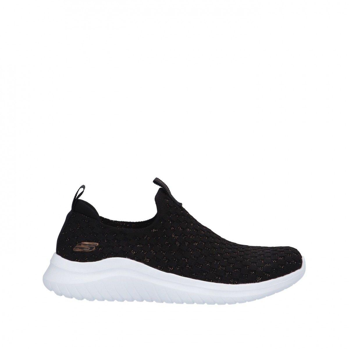 Skechers Sneaker Nero/oro...