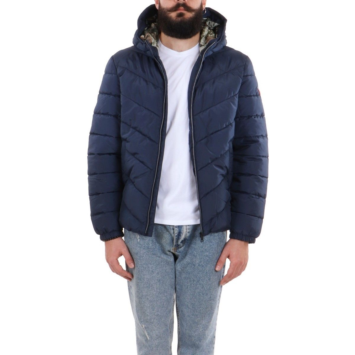Guess Bomber Blu  M0YL45WD2T0