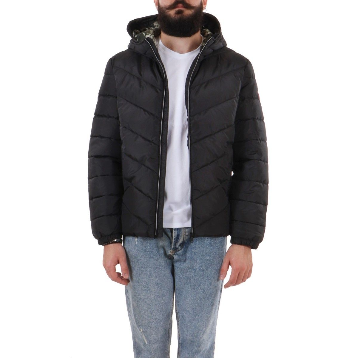 Guess Bomber Nero  M0YL45WD2T0