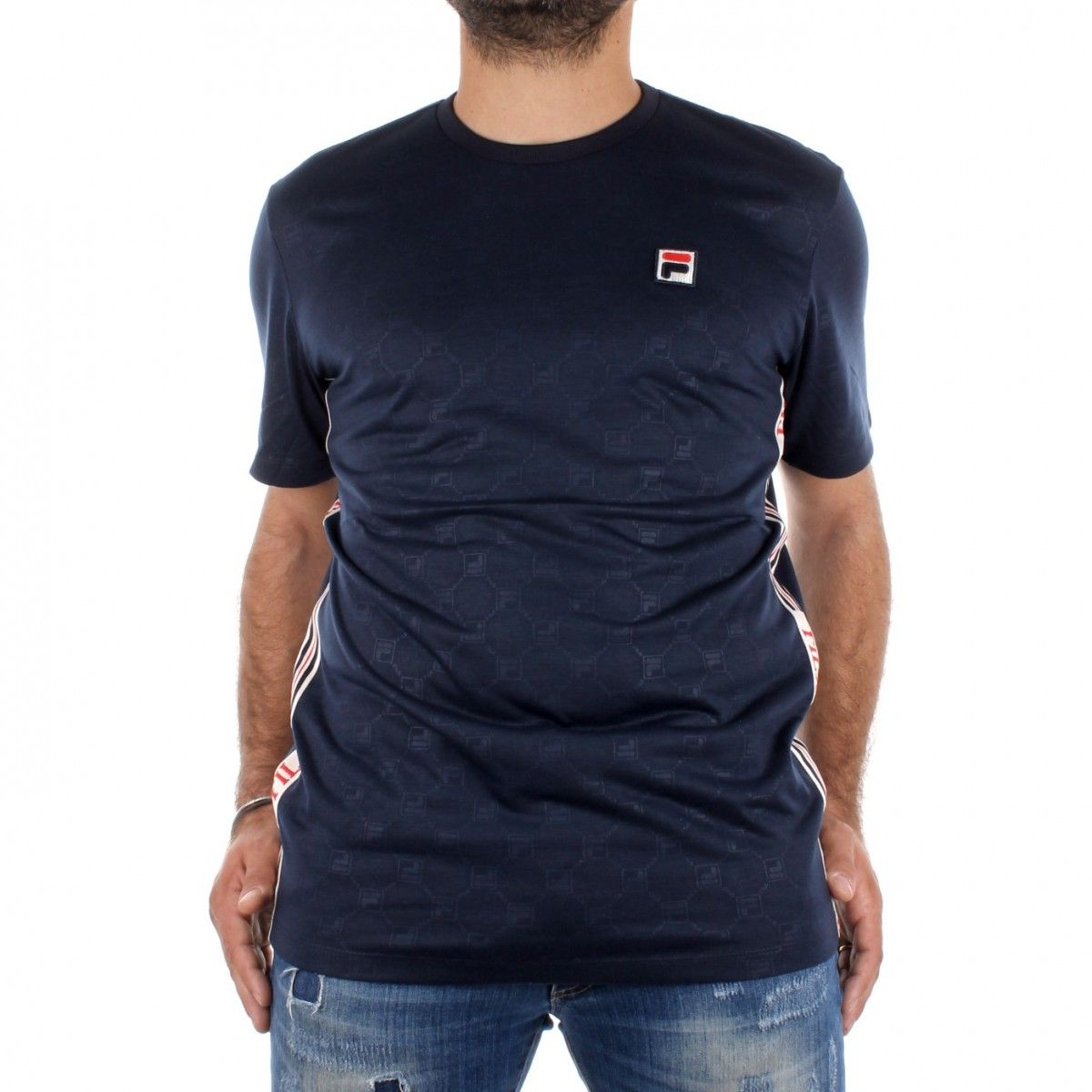 Fila T-shirt Blu Nariman...