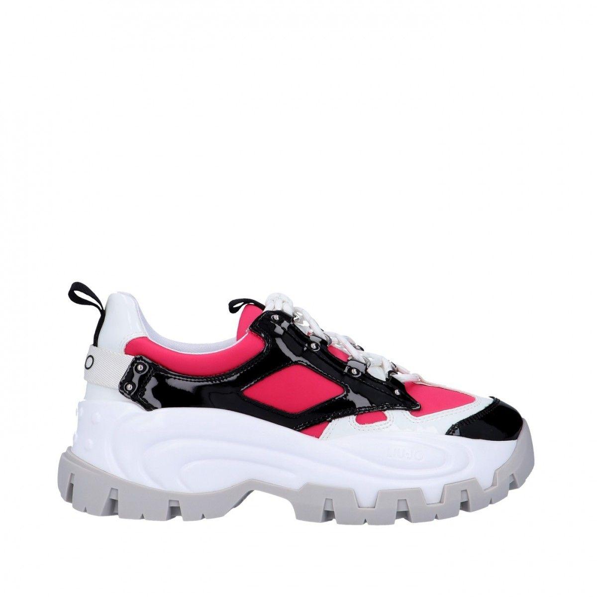 Liu jo Sneaker Nero/fucsia...