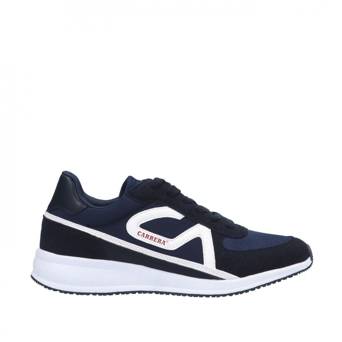 Carrera Sneaker Blu Gomma...