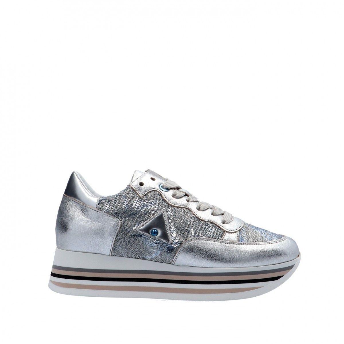 Ed parrish Sneaker Argento...