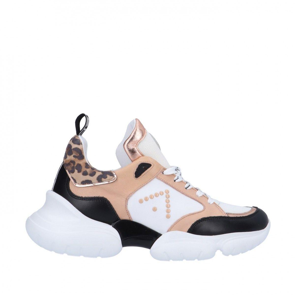 Ed parrish Sneaker Beige Gomma LKLD-AP11