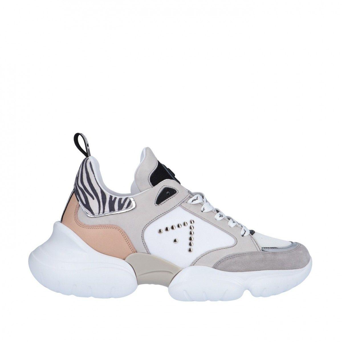 Ed parrish Sneaker Grigio Gomma LKLD-AP10