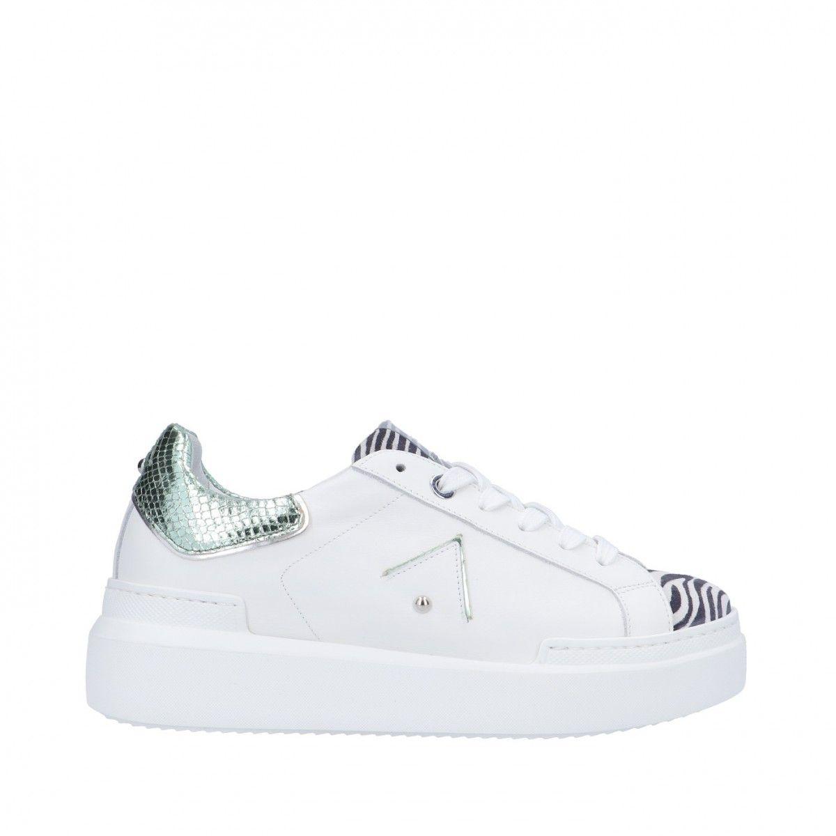 Ed parrish Sneaker Bianco/celeste Gomma CKLD-AD11