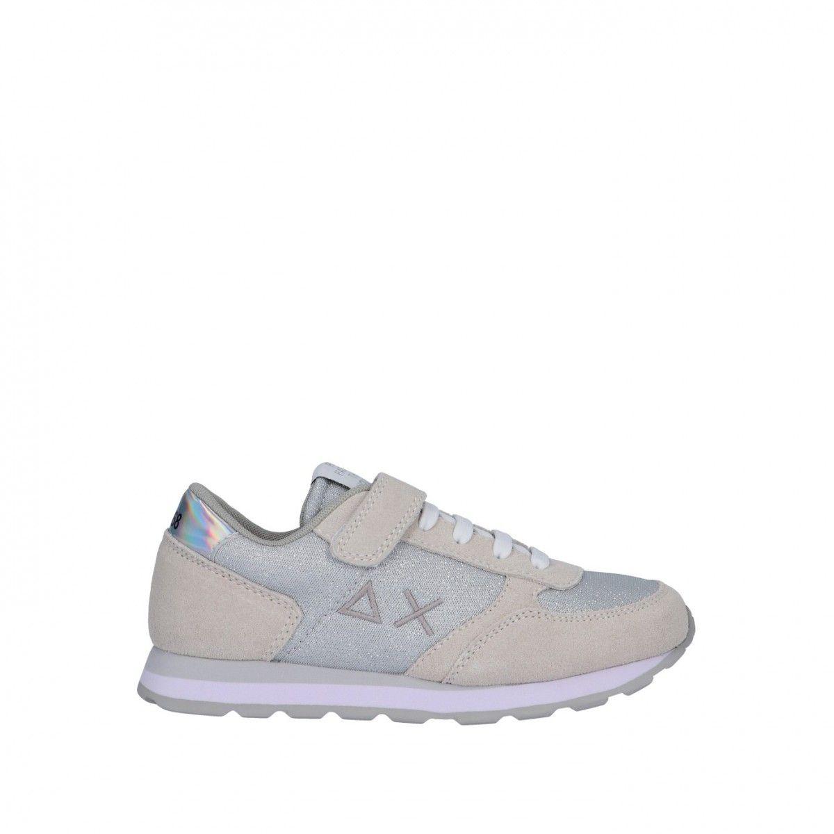 Sun68 Sneaker Bianco Gomma...