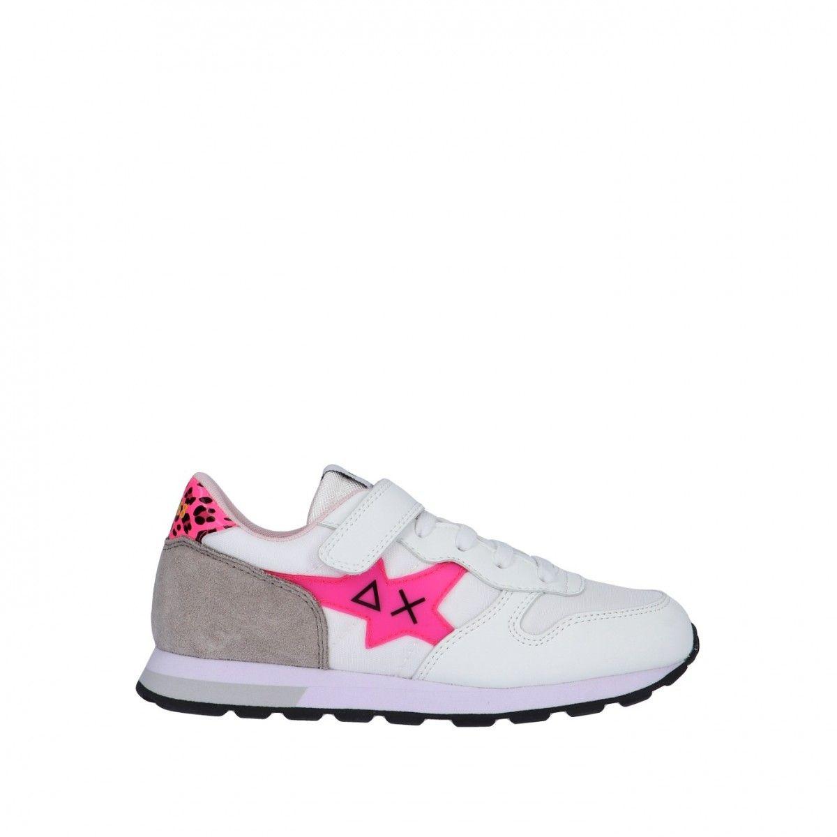 Sun68 Sneaker Bianco/fucsia...