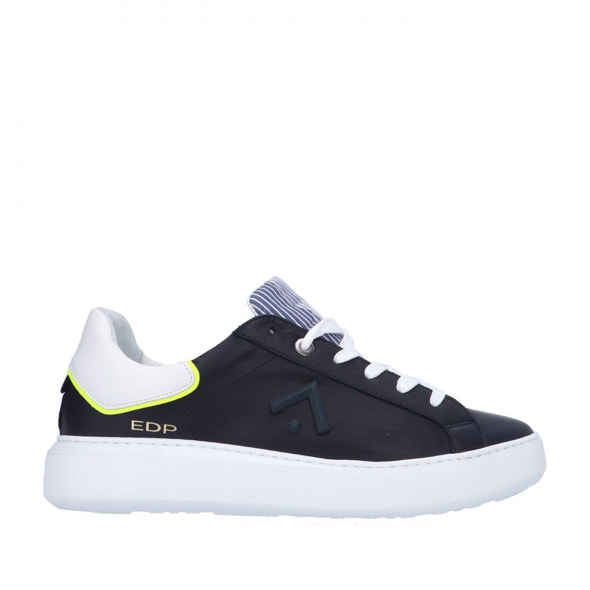 Ed parrish Sneaker Blu/giallo Gomma CKLU-VT05