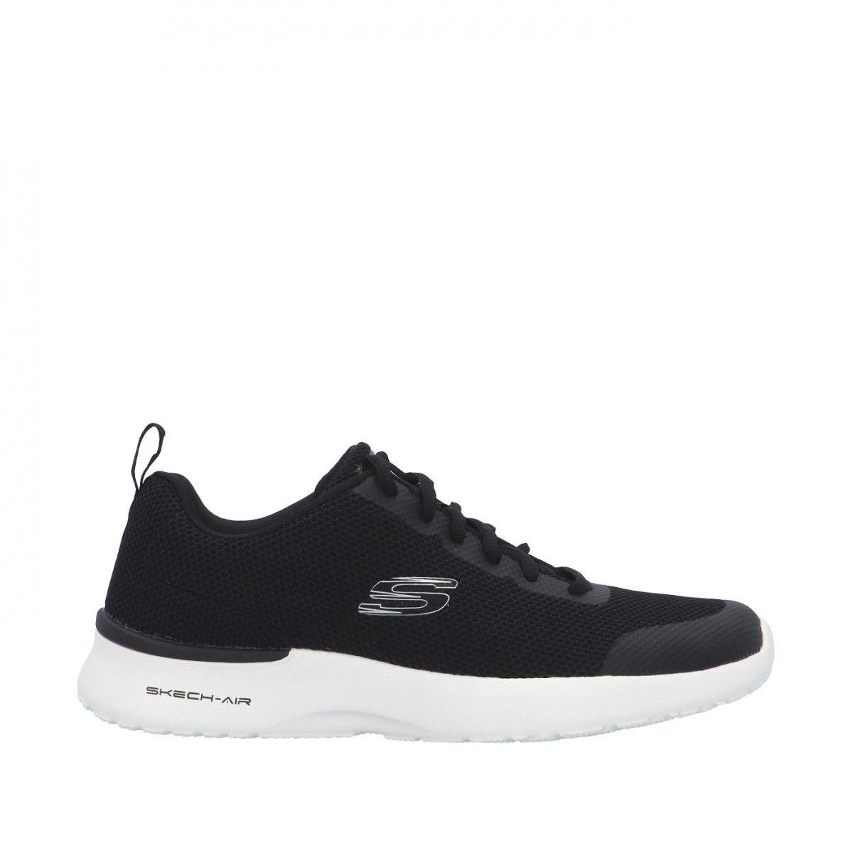 Skechers Sneaker Nero Gomma...