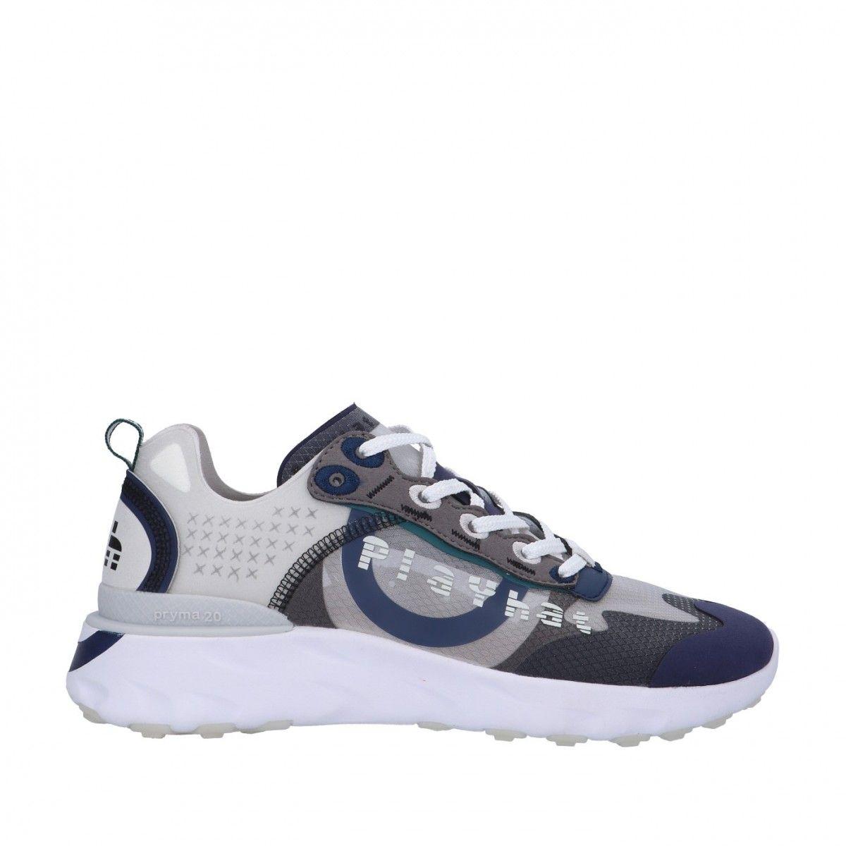 Playhat Sneaker Grigio/blu...