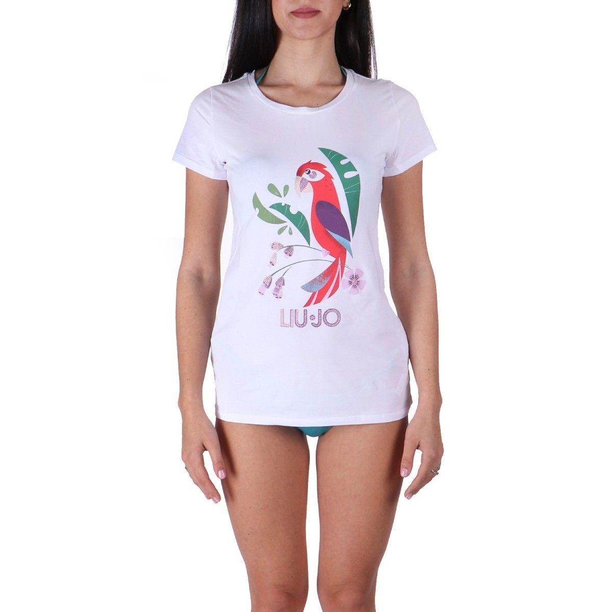 Liu jo T-shirt Bianco...