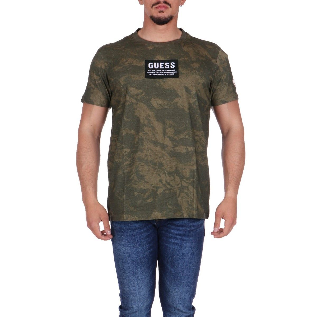 Guess T-shirt Camouflage...