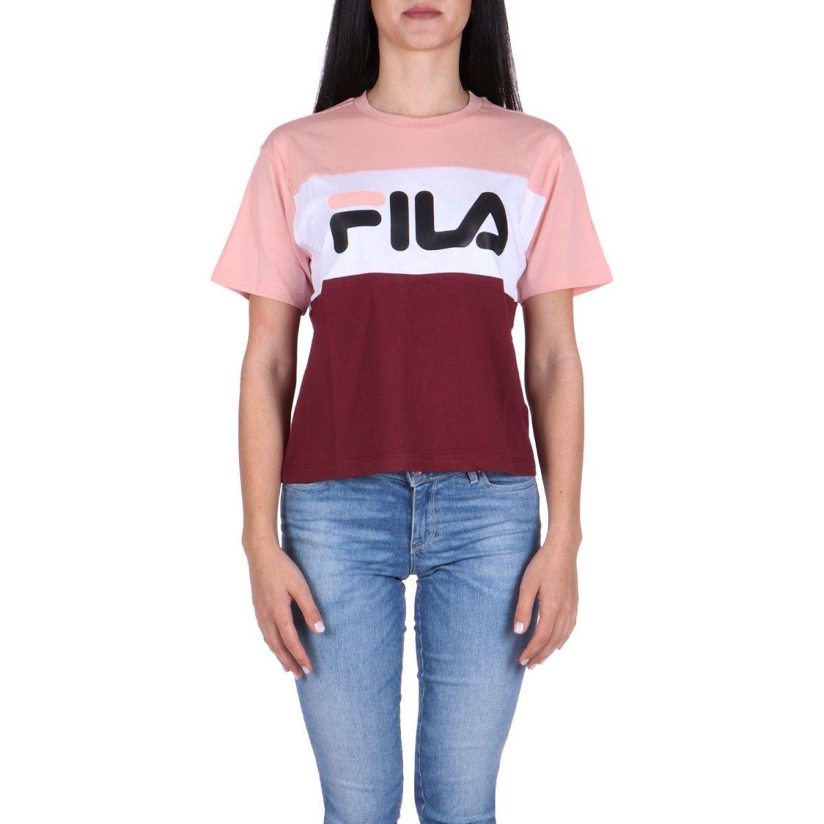 Fila T-shirt Rosa  682125