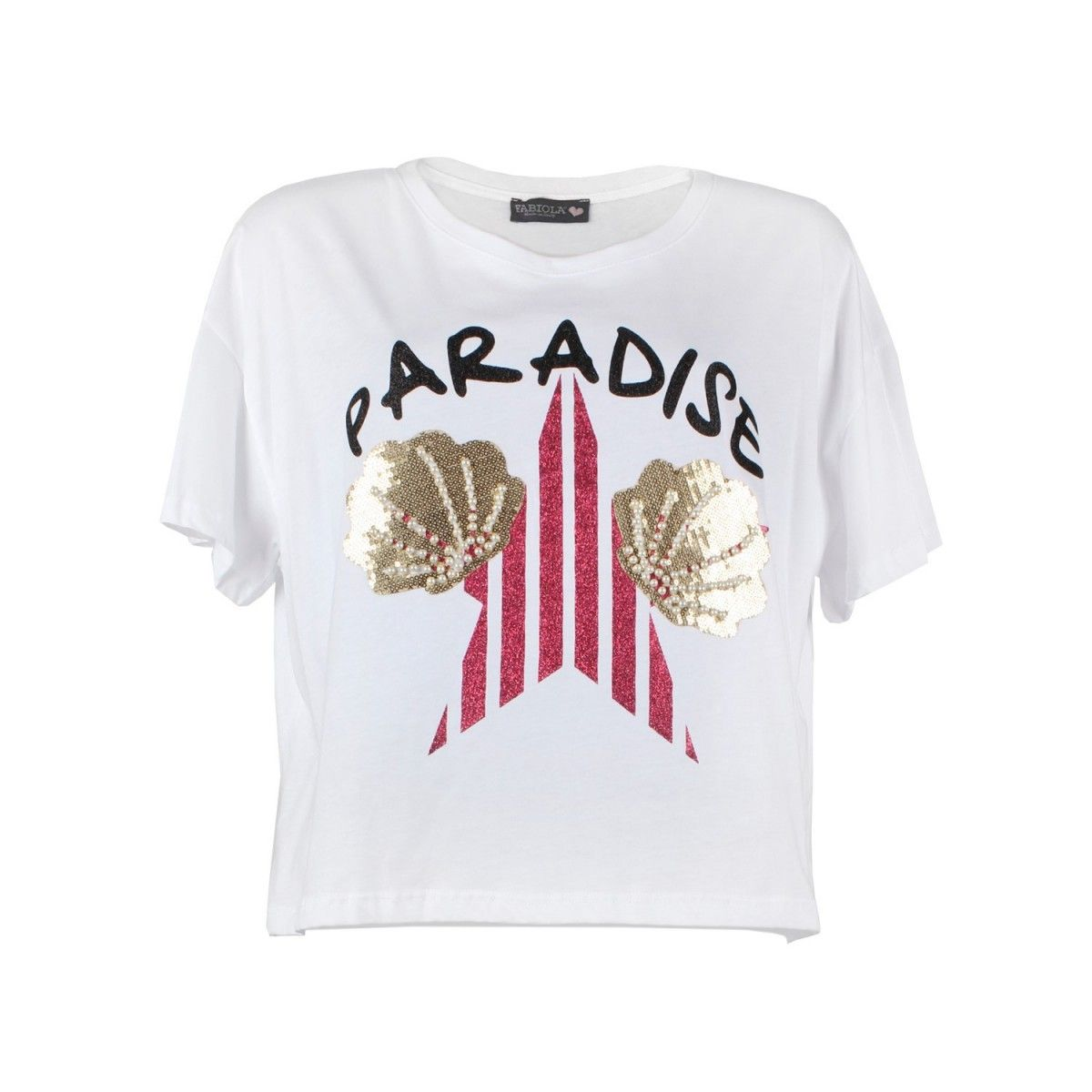 Fabiola T-shirt Bianco  SONG