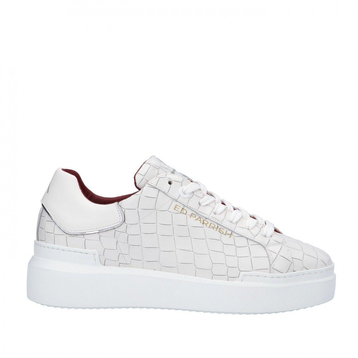 Ed parrish Sneaker Bianco Gomma CKLU-CV32
