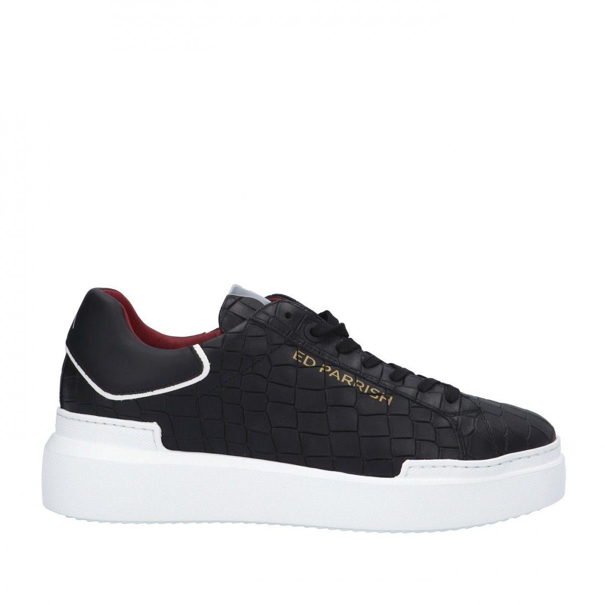 Ed parrish Sneaker Nero Gomma CKLU-CV31