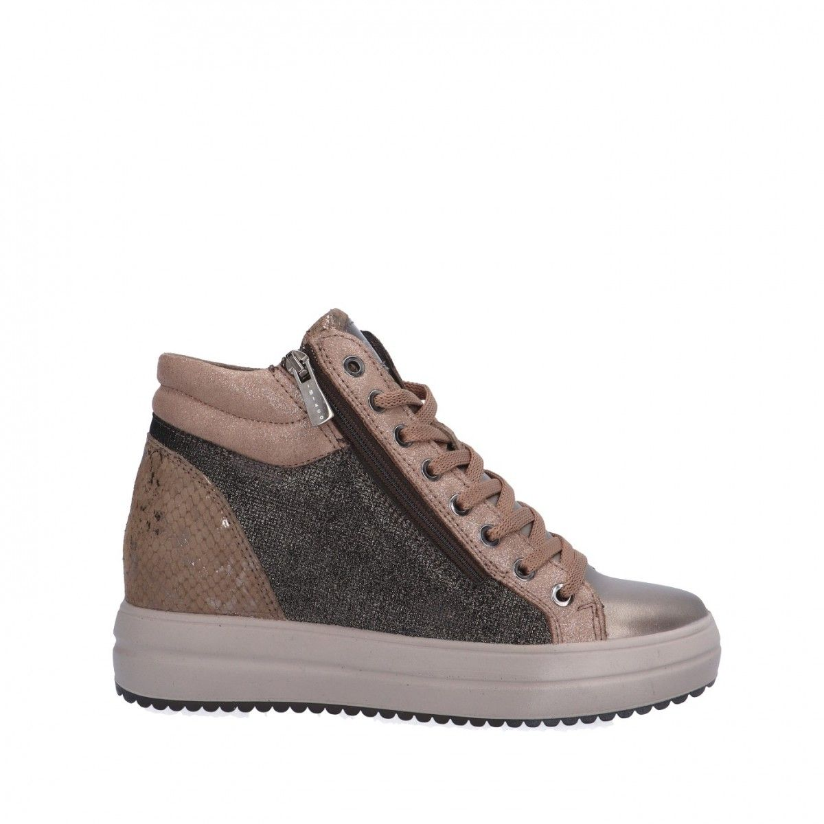 Igi&co Sneaker alta Visone...