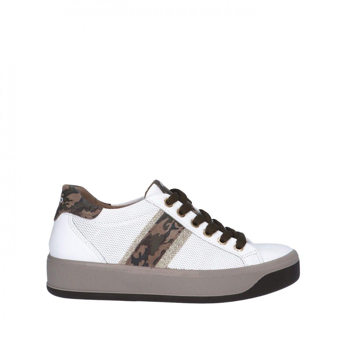 Igi&co Sneaker Bianco Gomma...