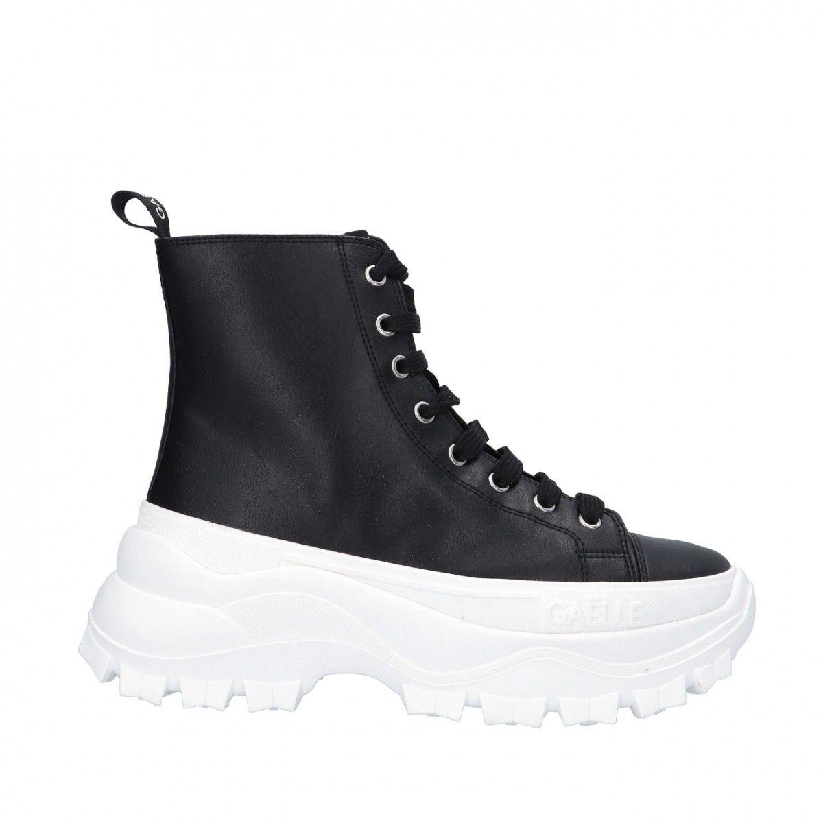 Gaelle Sneaker alta Nero...
