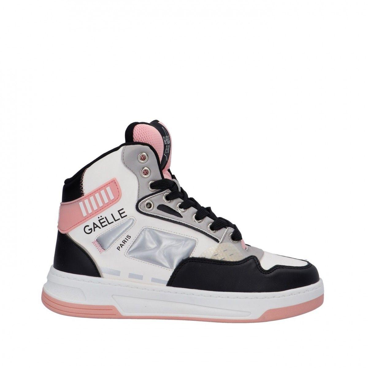 Gaelle Sneaker alta Rosa...