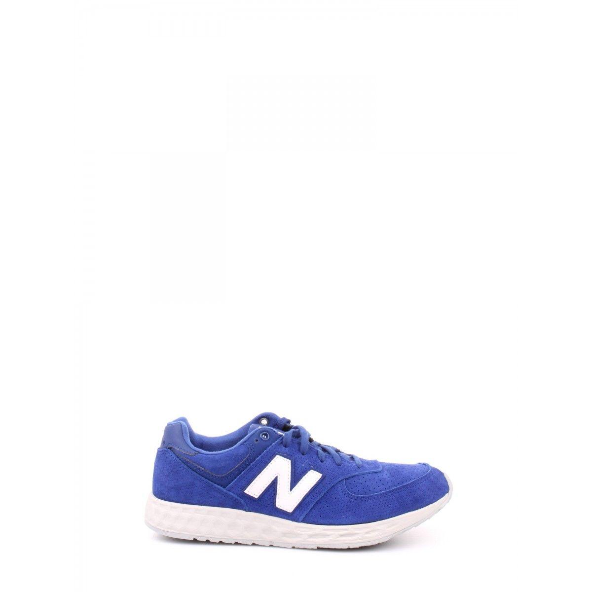 New balance - Leather/synthetic/mesh blue MFL574FE
