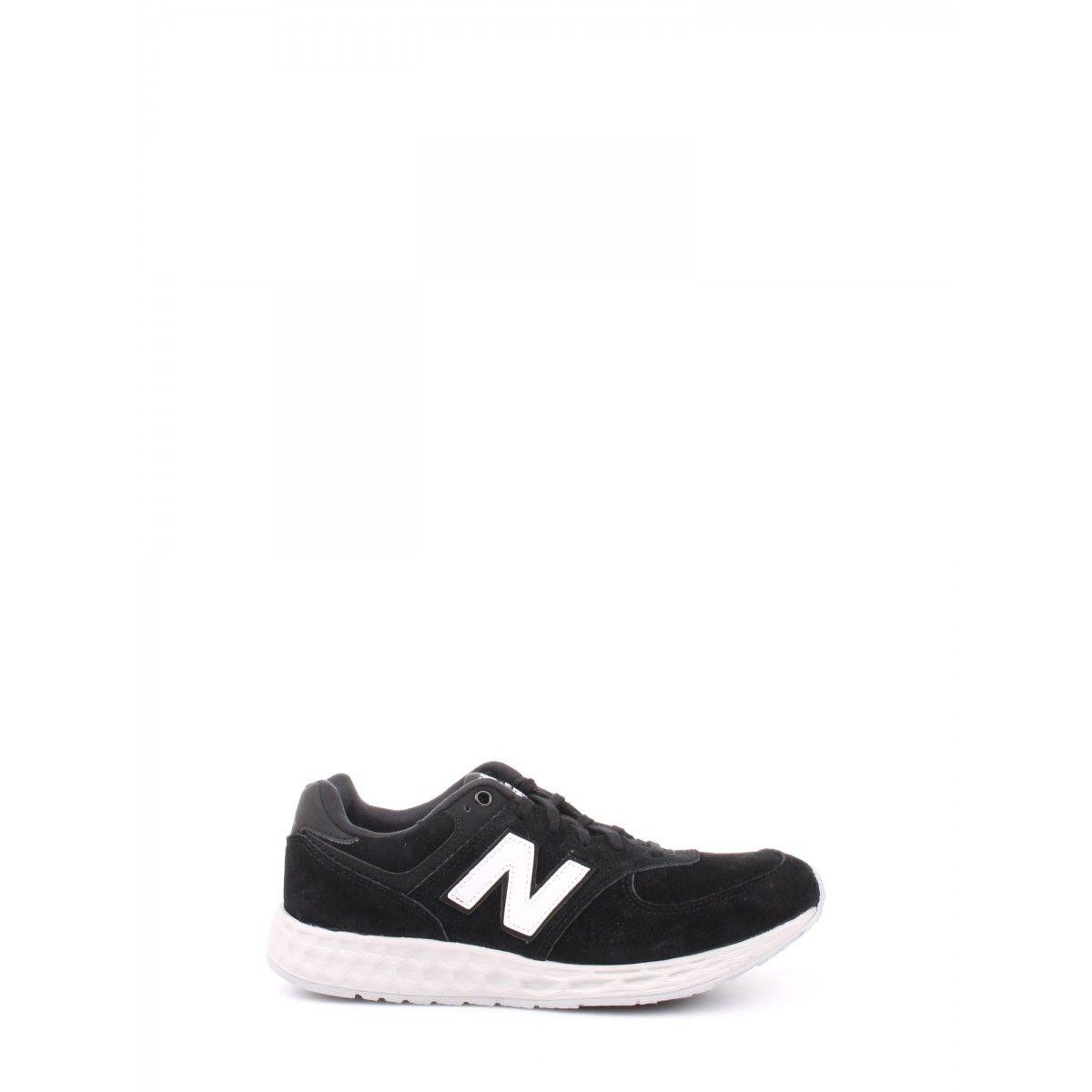 New balance - Leather/synthetic/mesh grey/black MFL574FC