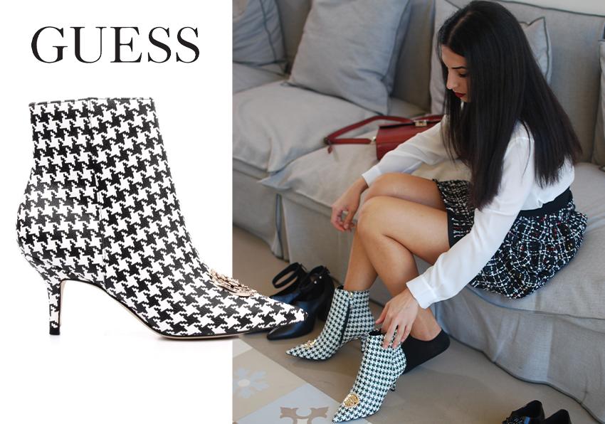 Blog Tutti gli stili delle scarpe donna Guess! Saldi